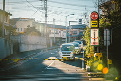 Morning (hans-johnson) Tags: railroad morning sun sunshine japan canon eos shine rail railway line nippon saitama 70200 nihon daihatsu   hasuda            vsco 5d3  vscofilm vscocam uenotokyoline  higahasu