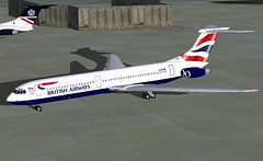 British Airways VC10-500 FS9 (jonf45 - 2 million views-Thank you) Tags: 2004 paint flight british airways bae simulator baw vc10 repaint skiin relivery vc10500