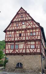 PI3A9473 Gotzenhaus, Niedernhall, Baden Wurttemberg (EJK41) Tags: halftimbered fachwerk truss fachwerkhaus gotzvberlichingen gotzenhaus