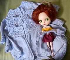 BaD May the 4th (lyndell23) Tags: knitting handmade knit handknit blythe knitted blythedoll handknitting sblblythe blytheaday minkletcustom alpacareroot handknittedcostume