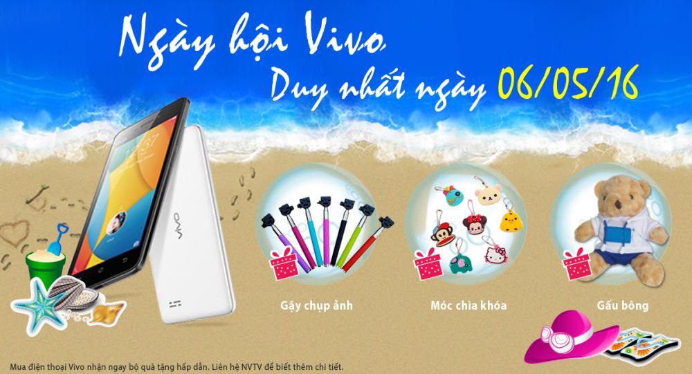 """""""Ngày hội Vivo"""" tại Phúc Anh - Tưng bừng mua sắm!"""