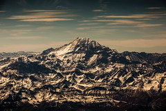 Aconcagua (Piotr_PopUp) Tags: chile santiago mountain mountains latinamerica southamerica argentina landscape flying aerial cerro andes windowseat aconcagua
