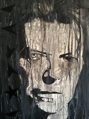 Blackstar (The Art of YorkBerlin) Tags: york berlin art painting artwork artist acrylic kunst canvas april acryl davidbowie blackstar malerei maler 2016 leinwand yorkberlin