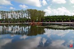 A travers le mince miroir de l'eau les esprits de l'air et de l'eau se confondent. (mamnic47 - Over 6 millions views.Thks!) Tags: perspective ciel versailles reflets grandcanal grandeseaux versailleschateaudeversailles img9677 bassinduchardapollon 21052016