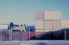 East McGlincy Lane (bior) Tags: industrial rangefinder slidefilm container sanfranciscobayarea bayarea siliconvalley campbell southbay ektachrome shippingcontainer kodakektachrome stockyard leicam3 ektachrome64t tungstenslidefilm