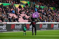 """Lupus"" warming up the crowd (Steenjep) Tags: football herning soccer lupus fodbold fcm snderjyske fcmidtjylland"