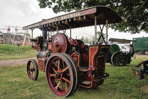 UK, Woolpit Steam Rally, Robey, C.West & Sons