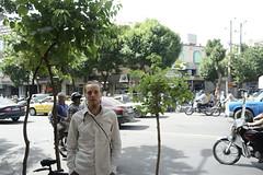 Ukrainian Friend ($ALEH) Tags: street portrait iran tourist tehran ukrainian adventurer