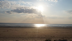 Formby Beach, May 2016 (amberleckenby) Tags: sunset sea summer beach liverpool merseyside formby sefton