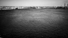 Ise Bay   (Jon-F, themachine) Tags: blackandwhite bw seascape water monochrome japan asian bay asia waterfront seascapes olympus monochromatic nagoya  nippon japo grayscale oriental orient minatoku fareast  aichi bodiesofwater bnw waterside nihon omd    chubu japn  2016  nocolor portofnagoya m43  mft  nagoyaport bodyofwater  minatoward  mirrorless   chuubu    micro43 microfourthirds  ft xapn jonfu  mirrorlesscamera snapseed   em5ii em5markii