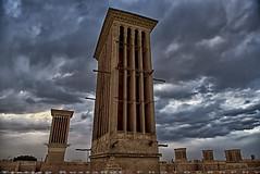 Windtowers (T   J ) Tags: nikon iran d750 yazd teeje nikon2470mmf28