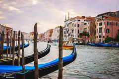 The Gondola | Venice, Italy (bucketpong) Tags: venice italy ferry zeiss river boat sony gondola venezia a7ii riato