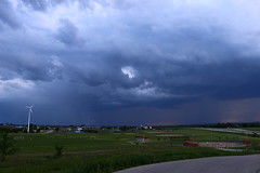 Leading Edge (Ryan Ojibway) Tags: wisconsin clouds fortatkinson thunderstorm wi severe jeffersoncounty