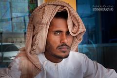 Bedouin - Oman (Patricia Ondina) Tags: person middleeast east turban tradition middle oman huma bedouin traditionalclothing coiffe kumma kummah mizzar
