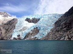 Glacier closeup in Kenai Peninsula, Alaska (okaystephanie) Tags: ocean blue ice nature beauty up closeup alaska close pacific glacier change environment peninsula climate warming kenai global