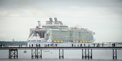 Southampton Water 22 May 2016 (Cranbury Attic Photography) Tags: boats ships hampshire cruiseship royalcaribbean southamptonwater harmonyoftheseas