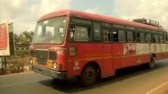 MSRTC Vijaydurg Ratnagiri Mumbai (kunalas440) Tags: hirkani msrtc statetransportbus maharashtrastateroadtransportcorporation volvo9400 msrtcbus msrtcashokleylandbus msrtcpushback msrtchirkani msrtcpushbackhirkani msrtcshivneri msrtcdevrukhdepot