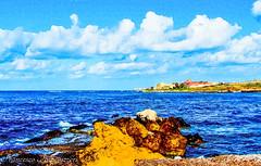 Landscape (Francesco Impellizzeri) Tags: seascape clouds landscape sicily trapani