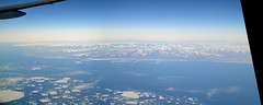Nome, Alaska (wfung99_2000) Tags: aerial view alaska nome kigluaik mountains sledge island mount osborn seward peninsula norton sound yvr can g212 beringsea packice cz330