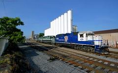 Kentucky WIDE-Cats (Jeff Carlson_82) Tags: railroad yard train kentucky ky 1988 railway louisville pal railfan regional oakst emd gp402 pl4 paducahlouisville bjkindustries