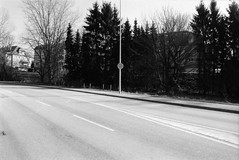 Neiduerf-Weimeschhaff, Ltzebuerg, LU (Jickatrap) Tags: blackandwhite film analog 35mm pentax infrastructure suburb luxembourg   luxemburg urbanlandscape delta400 pentaxmz50 bwfilm filmphotography  ilforddelta    ltzebuerg   newtopographics      photographersontumblr