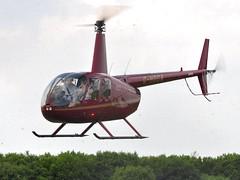 G-HOCA (goweravig) Tags: uk swansea wales aircraft visiting raven robinson r44 swanseaairport ghoca