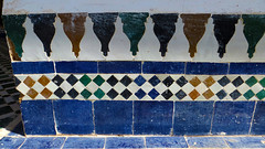 Zellij Tile 12 (macloo) Tags: geometric architecture tile design morocco moorish marrakech decor zellij bahiapalace
