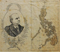 Handrawn Map of the Philippine Islands (Leo Cloma) Tags: gallery antique auction philippines leon antiques makati cloma