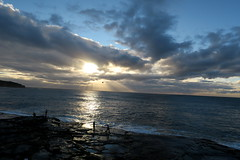 Rock Fishing (CNDoz) Tags: rock fishing curlcurl cndoz