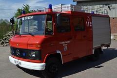 MB 410 (Vehicle Tim) Tags: truck fire mercedes feuerwehr mb fahrzeug lkw einsatz blaulicht