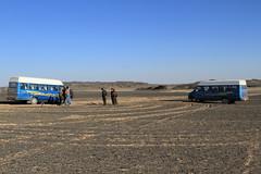 I_B_IMG_7463 (florian_grupp) Tags: china railroad train landscape asia mine desert muslim railway steam xinjiang mikado locomotive ore js steamlocomotive 282 opencastmine yamansu