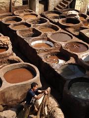 P4128175 (bartlebooth) Tags: africa northafrica muslim islam unesco morocco maroc medina marruecos fes worldheritage tannery maruecos feselbali