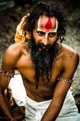 sadhu at the kumbh mela,nasikh (sandydsouza1) Tags: portrait people india religious streetphotography hindu sadhu naga mela kumbhmela kumbh nagababa