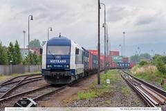 761.006-6 | NEx262520 | tra 331 | Lpa n.D. (jirka.zapalka) Tags: summer train czech nex stanice metrans trat331 rada761 lipanaddrevnici