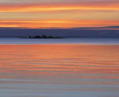 vnern (~ L~) Tags: sunset sky lake water island sweden outdoor vnern sj lakescape vnernlake