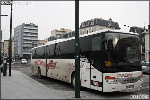 Setra S 416 H - Francony / Lihsa (Lignes Interurbaines de Haute-Savoie)