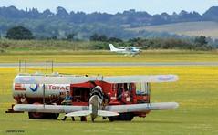 Fuel Time J78A0015 (M0JRA) Tags: duxford cars transport sports mini tanks planes aircraft flying fuel vintage