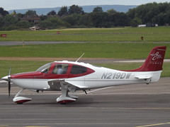 N219DW Cirrus SR22 (Aircaft @ Gloucestershire Airport By James) Tags: gloucestershire airport n219dw cirrus sr22 egbj james lloyds