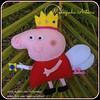 Chaveiro Peppa Pig (Manezinha Arteira) Tags: pig feltro peppa chaveiro fadinha