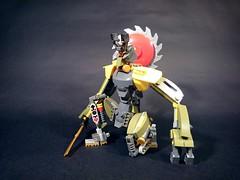 Roburai 01 (JPascal) Tags: robot lego samurai drone