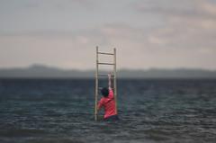 Keep the Faith (DCT Imagery & Photography) Tags: sea stairs faith problems conceptualphoto escapingfromthesea