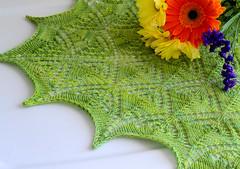 Marina Shawl (Varant) Tags: scarf knitting lace merino shawl stroll knitpicks