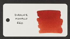Diamine Monaco Red - Word Card