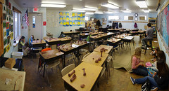 5th Grade: Ancient History and Mythology; Greece: Classical Order; clay work: A break from Temple Building (ArneKaiser) Tags: 5thgrade classicalorder edited mrkaisersclass pineforestschool waldorf clay worksample flickr