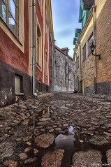 (dgaripov) Tags: street old town spring tallinn estonia day nobody vanalinn 201504