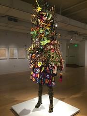 Nick Cave - Soundsuit, 2009 (Liz Lapp) Tags: sanfrancisco sculpture art museum portraits african sfmoma exhibition moad nickcave diaspora museumofafricandiaspora sfmomaonthego portraitsredifined portraitsredefined