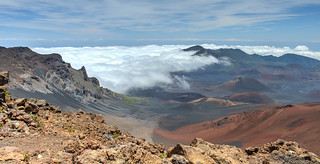 Clouds Within Mount Haleakala