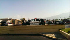 Dinner and a show, Desert Hot Springs style (bossco) Tags: police dhs deltaco deserthotsprings