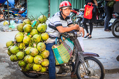 coconut delivery boy