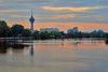 Alor Setar Tower From Ampang Jajar (Shamsul Hidayat Omar) Tags: city reflection tower tourism water sunrise river landscape photography high interesting nikon scenery dynamic places scene malaysia omar range hdr kedah alor setar hidayat greatphotographers shamsul photoengine oloneo d800e